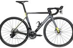 Guerciotti Rahmen Mod. Eclipse S Disc 2020,                                     grey/black/yellow, 920gr.