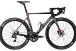 Guerciotti Rahmen Mod. Eclipse S Disc 2020,                                     grey/black/red, 920gr.